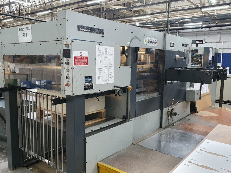 Show details for Bobst SP 102-E Automatic Die Cutter