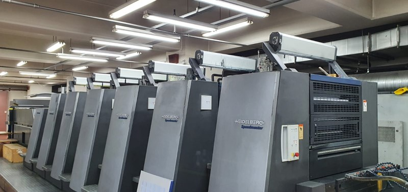 Show details for Heidelberg CD 74 6 LX  With Interdeck UV