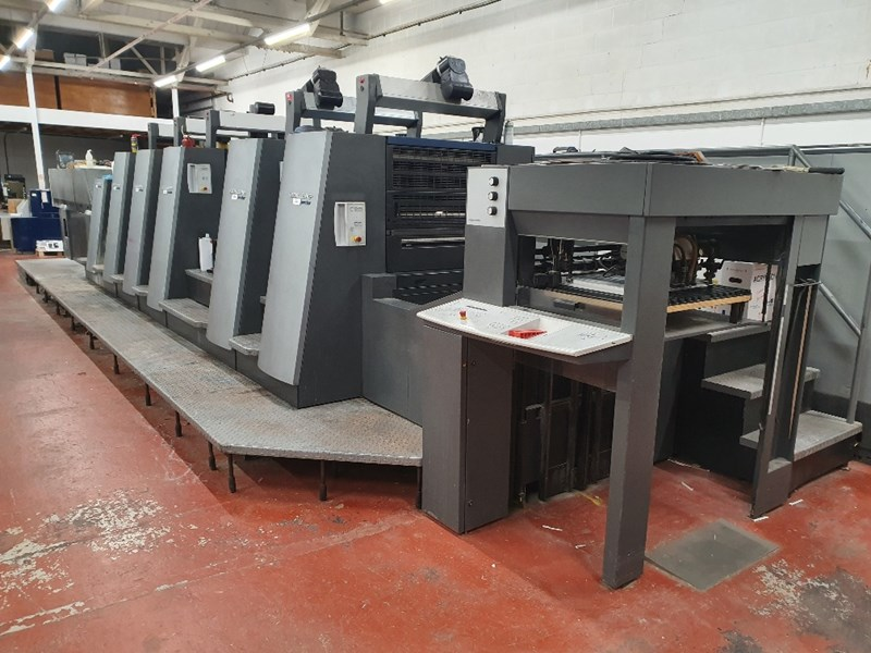 Show details for Heidelberg CD 74 5 P3 LX