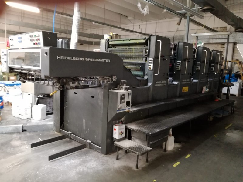 Show details for Heidelberg SM 102 VP