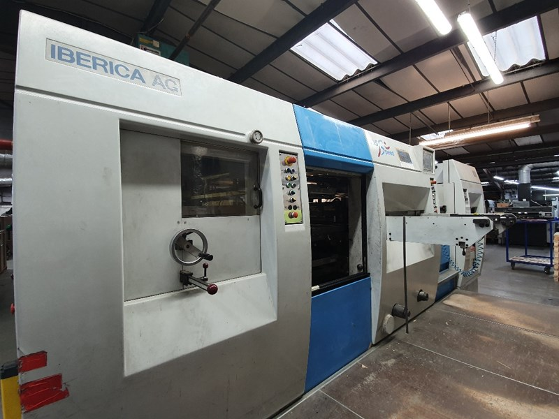 Show details for Iberica JR 105 F  Speed Automatic Die Cutter