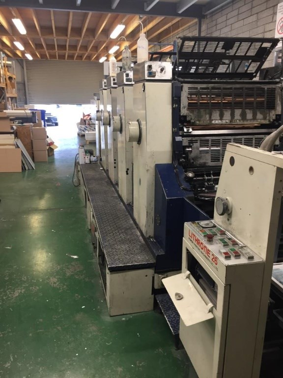 Show details for Komori Lithrone L-426 II