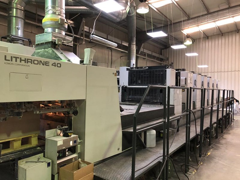 Show details for Komori Lithrone L 640 LX
