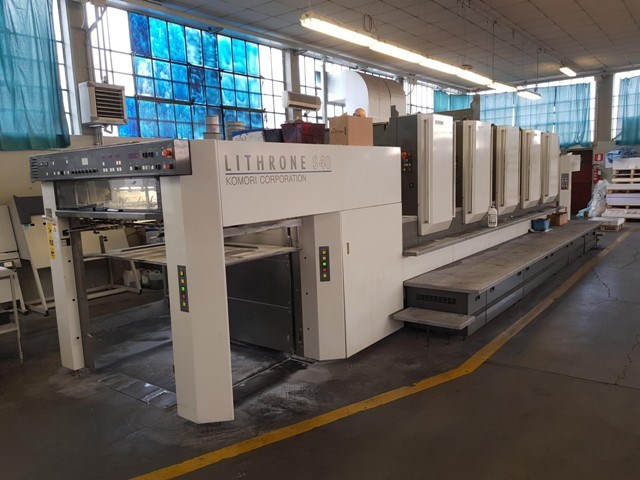 Show details for Komori Lithrone L540