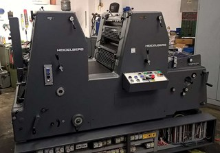 Heidelberg GTOZ-52+ Sheet Fed
