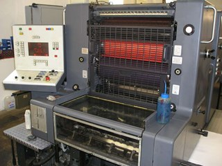 Heidelberg MOZP-S Sheet Fed