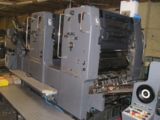 Heidelberg Speedmaster 72 ZP Sheet Fed