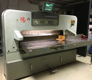 Polar 155 EMC MON Guillotines/Cutters