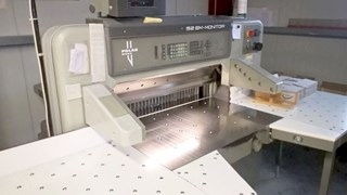 Polar 92 EM-Monitor Guillotines/Cutters