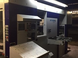Bobst SP 76BM Hot Foil + Cutting & Creasing Die Cutters - Automatic and Handfed