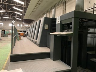 Heidelberg CD 74-5+L F  Machines offset à feuilles