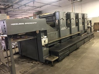 Heidelberg SM 102-v Sheet Fed
