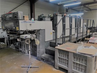 2000 komori L 528p Sheet Fed