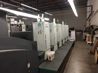 2006Roland 505P2 + LV   UV   单张纸胶印机