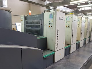 Manroland 500 Sheet Fed