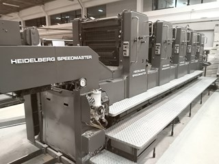 1990 Heidelberg Speedmaster 72F Sheet Fed