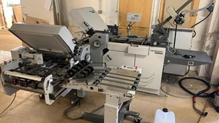 2000 Heidelberg Stahl Ti52 4/4/K combination folder Folding machines