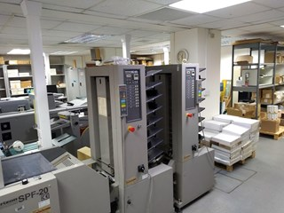 1997 Horizon SPF20 Booklet maker Booklet production