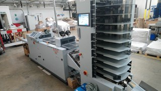Horizon SPF 200A booklet maker Booklet production