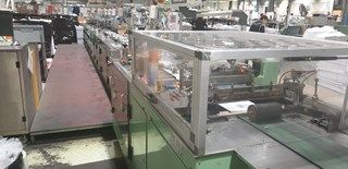 STS AV 25 automatic direct mail wrapping machine Poststelleneinrichtung