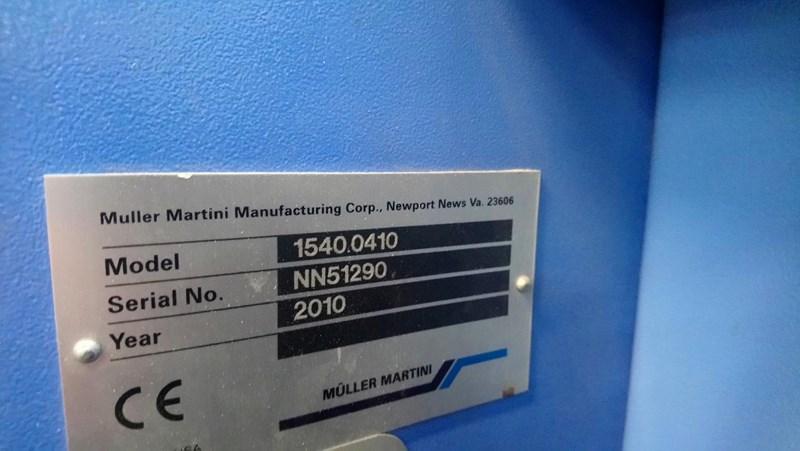 Müller Martini Presto E90 6 station and cover