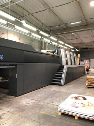 Heidelberg SM XL 162/4 Sheet Fed