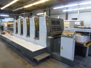 Komori Lithrone LS-29/4-CX HC-HUV Machines offset à feuilles