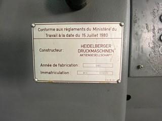 Heidelberg MOV Gebrauchte Bogenoffsetmaschinen