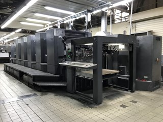 Heidelberg SM 102 5 Sheet Fed