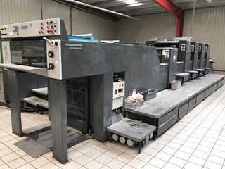 Heidelberg SM 74 4 LX Sheet Fed