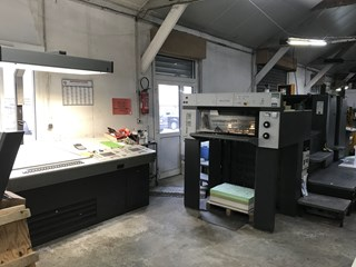 Heidelberg SM 74 2H 单张纸胶印机