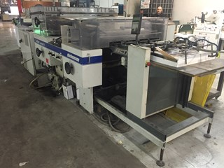 Steinemann Colibri 74 Laminating and coating