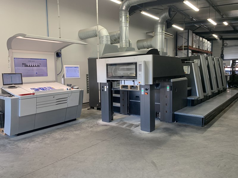Show details for Heidelberg SM XL 75 4+L