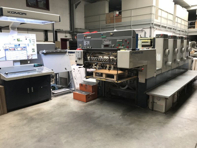 Show details for KOMORI LITHRON 426- 1998 MODEL