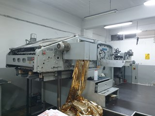 Bobst SP 1080 E Hot Foil Stamping Machine  Hot Foil Stamping