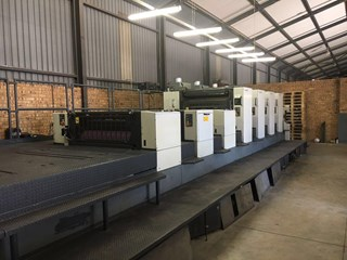 KOMORI LITHRONE 440 LYLX Offset de pliegos