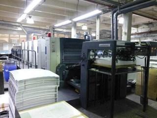 ROLAND R 705 3B+LV HiPrint 单张纸胶印机