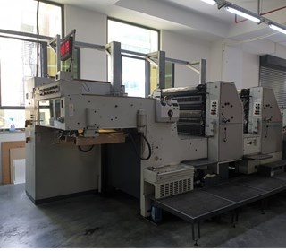 ROLAND REKORD RZK 3BE Sheet Fed