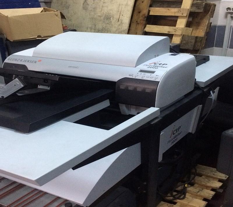 GLUNZ&JENSEN PlateWriter 2000