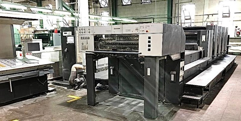 Show details for Heidelberg CD 102-5+LX