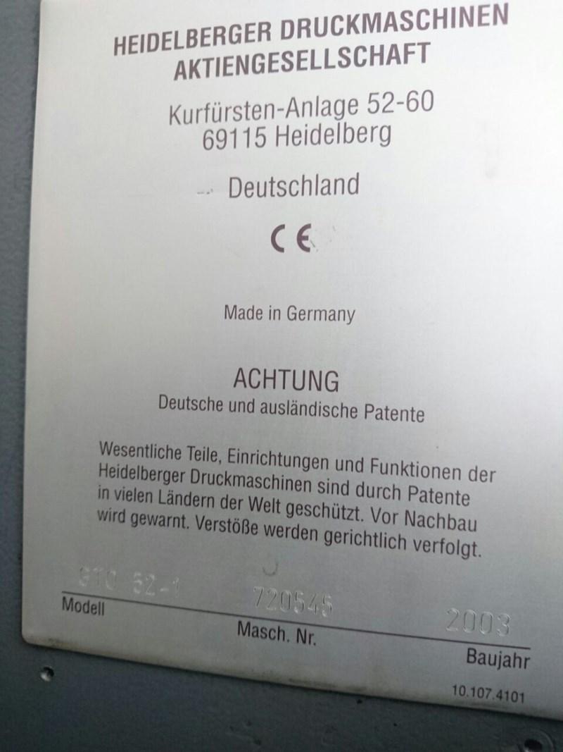 HEIDELBERG PM 52 - 1