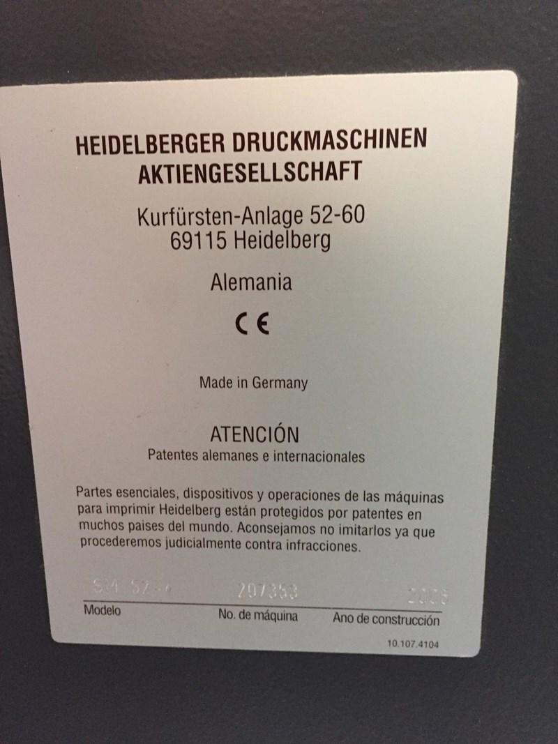 HEIDELBERG SM 52-4