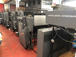 Heidelberg SM102 F Sheet Fed