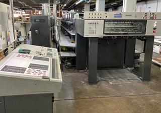 Heidelberg SM 102-6P3L 单张纸胶印机
