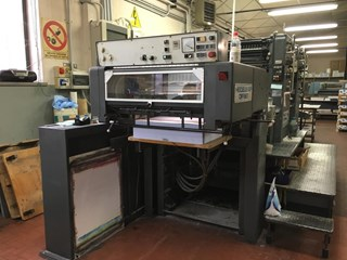 Heidelberg SM72Z Sheet Fed
