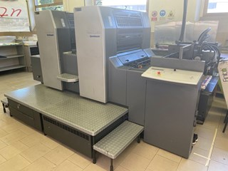 Heidelberg SM74-2P Sheet Fed