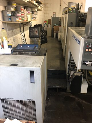 Komori Lithrone L-28 Sheet Fed