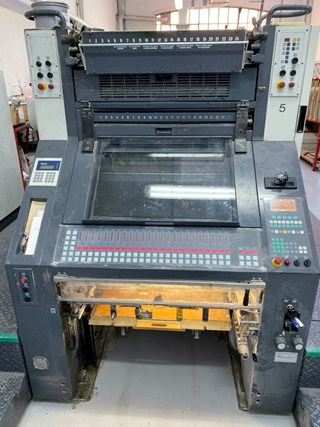 Manroland 205 E OB Sheet Fed