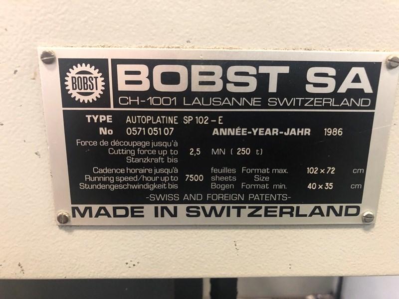 Bobst SP 102 E
