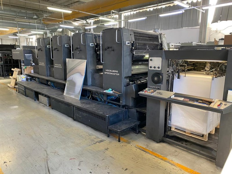 Show details for Heidelberg SM102VP